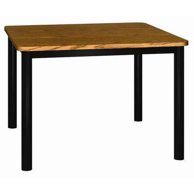 Ironwood Square Glacier Library Table