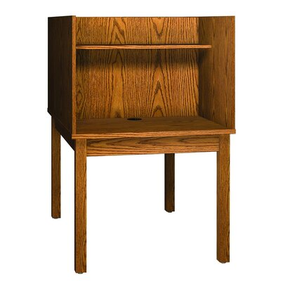 Ironwood Library 3000 Wooden Back-to-Back Study Carrel