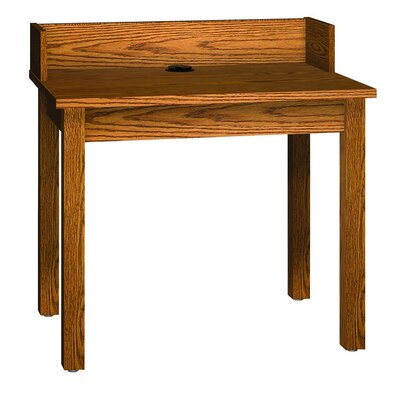 Ironwood Library 3000 Wooden Reference Carrel