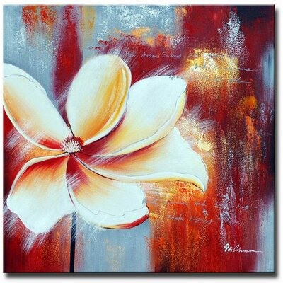 White Walls Singled Out Original Painting on Canvas