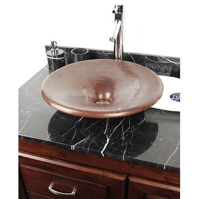 D'Vontz Antigua Copper Vessel Sink