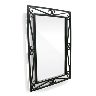 D'Vontz Cantilevered Scroll Mirror