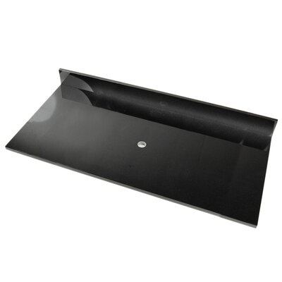 "D'Vontz 61"" Vanity Top for Vessel Sink"