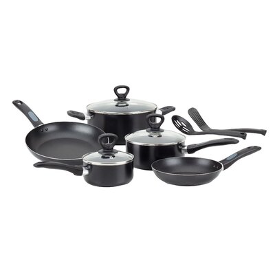 Mirro Get-A-Grip Aluminum 10-Piece Cookware Set