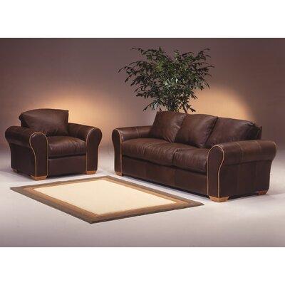 Scottsdale 3 Seat Leather Living Room Set