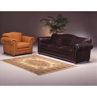 Omnia Furniture Sedona Leather Living Room Set