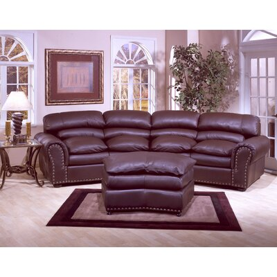 Williamsburg Leather Sofa