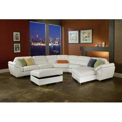 Park Tower Leather Sectional
