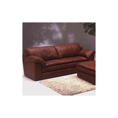 Omnia Furniture  Leather Sofa