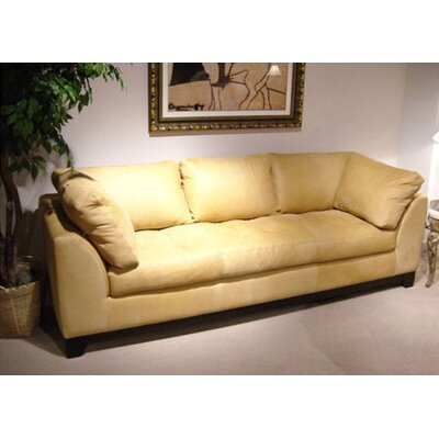 Espasio Leather Loveseat