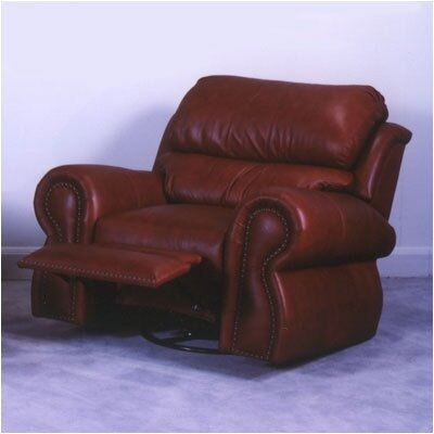 Omnia Furniture Cordova Leather Recliner