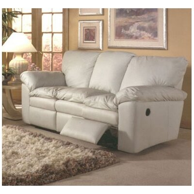 Omnia Furniture El Dorado Leather Full Sleeper Sofa