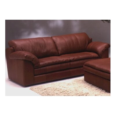 Omnia Furniture Encino Leather Sofa