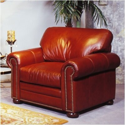 Omnia Furniture Savannah Leather Chair
