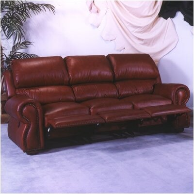 Cordova Leather Reclining Sofa