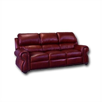Omnia Furniture Cordova Leather Full Sleeper Sofa