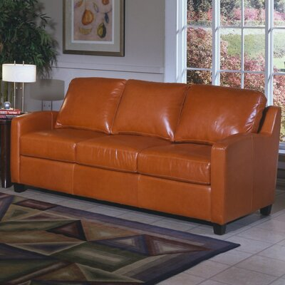 Chelsea Deco Leather Sleeper Sofa
