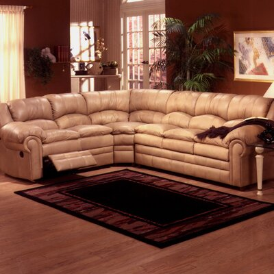 Riviera Leather Reclining Sectional