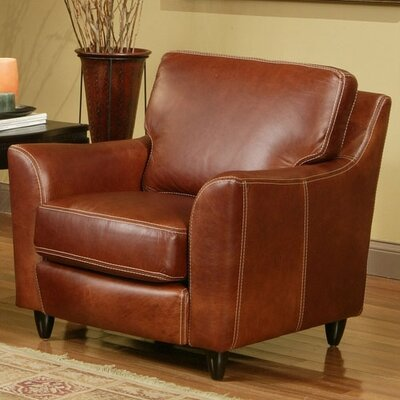 Omnia Furniture Great Texas Leather Chair