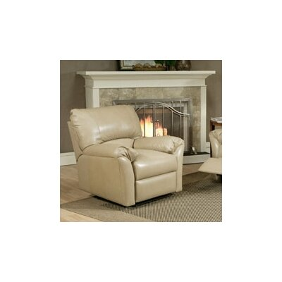 Omnia Furniture Mandalay Leather Recliner