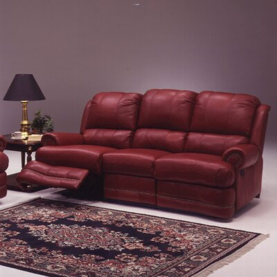 Omnia Furniture Morgan Leather Sofa
