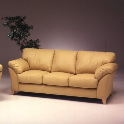 Nevada Leather Loveseat