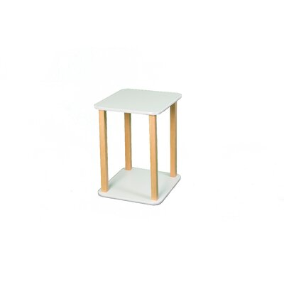 Wild Zoo CPU / Printer Stand in White