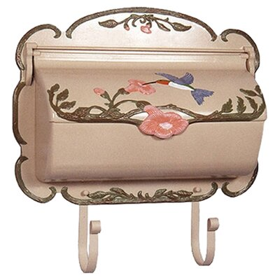 <strong>Special Lite Products</strong> Hand Painted Hummingbird Horizontal Wall Mounted Mailbox