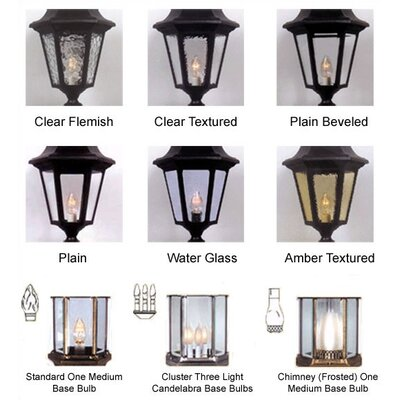Special Lite Products Astor 3 Light Post Lantern