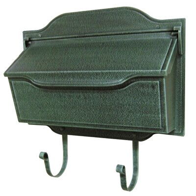 Special Lite Products Contemporary Horizontal Wall Mounted Mailbox