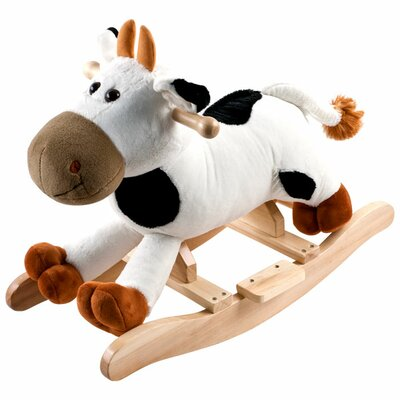 Plush Connie Rocking Cow