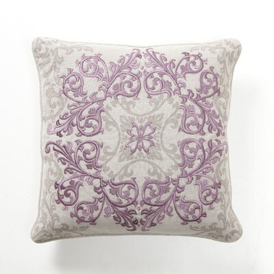 Villa Home Baroque and Roll Urbane Pillow in Plum