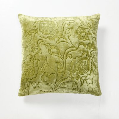 Villa Home Green Fields Dentelle Velvet Pillow