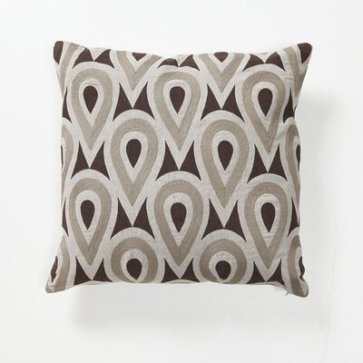 Villa Home Global Bazaar Gumdrop Pillow in Brown