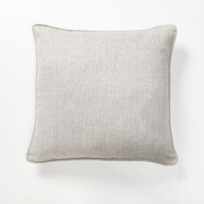 Villa Home Green Fields Portia Herringbone Pillow