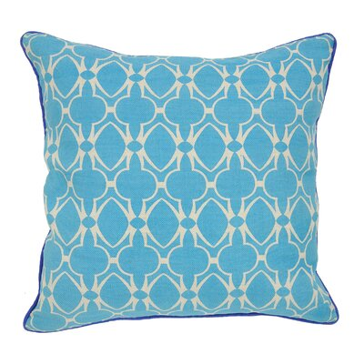 Villa Home Carnaby Street Marina Linen and Cotton Pillow