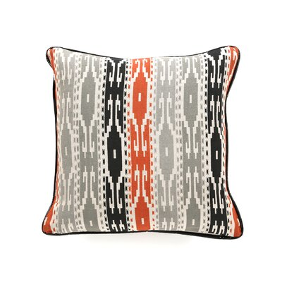 Villa Home African Mod Siliana Print Stripes Pillow