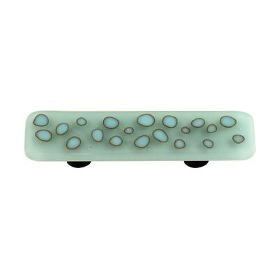 Hot Knobs Reactive Cabinet Pull in Clear Powder Blue