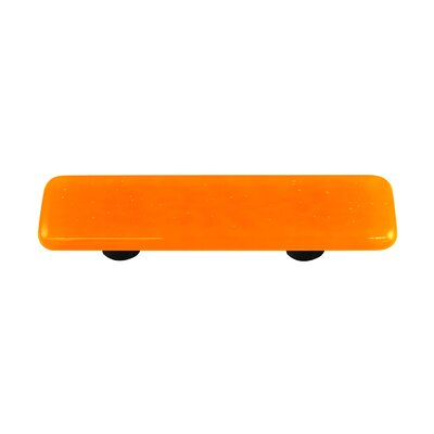 Solids Cabinet Pull in Pumpkin Orange