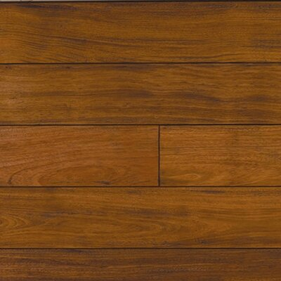 "IndusParquet 5-1/2"" Solid Brazilian Cherry Antiquity Hand-Scraped Flooring"