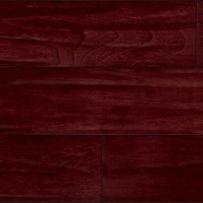 "IndusParquet 5-1/2"" Brazilian Cherry Antiquity Hand-Scraped 3/4"" Solid Line Flooring in Rouge/Red"