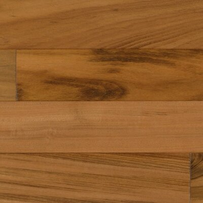 "IndusParquet 6-1/4"" Engineered Hardwood Tigerwood Flooring in Clearvue Urethane"