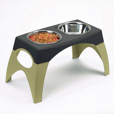 Bergan Pet Products Elevated Dog Feeder