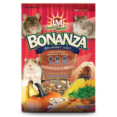 Hartz Bonanza Hamster and Gerbil Food - 2 lbs