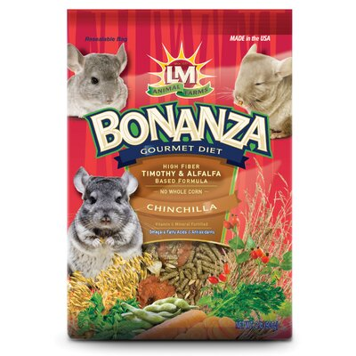 Hartz Bonanza Chinchilla Food - 2 lbs