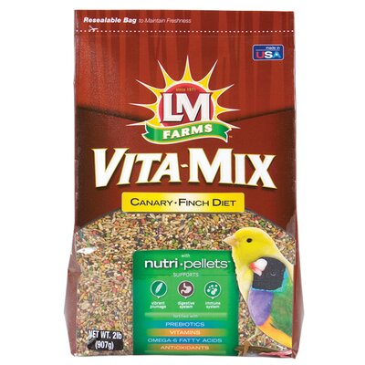 Hartz Vita-Mix Canary and Finch Diet Food - 2 lbs