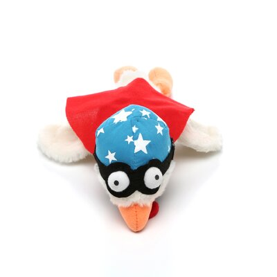 Hartz Chicken Design Sling Shot Plush Dog Toy