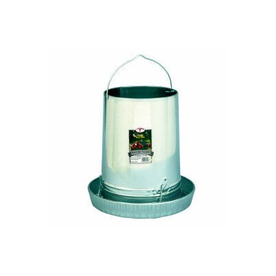 Miller Mfg Hanging Poultry Feeder with Pan