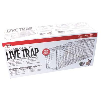 "Miller Mfg 24"" Single Door Live Trap"