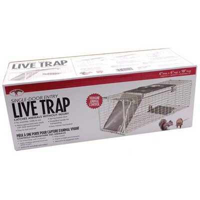 Miller Mfg Single Door Live Trap